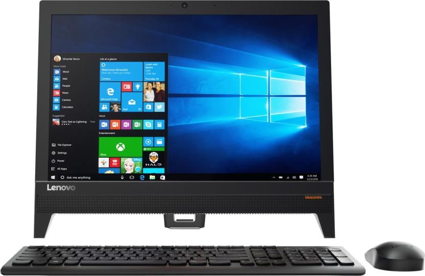 Lenovo - (Pentium Quad Core/4 GB DDR3/1 TB/Windows 10 Home)