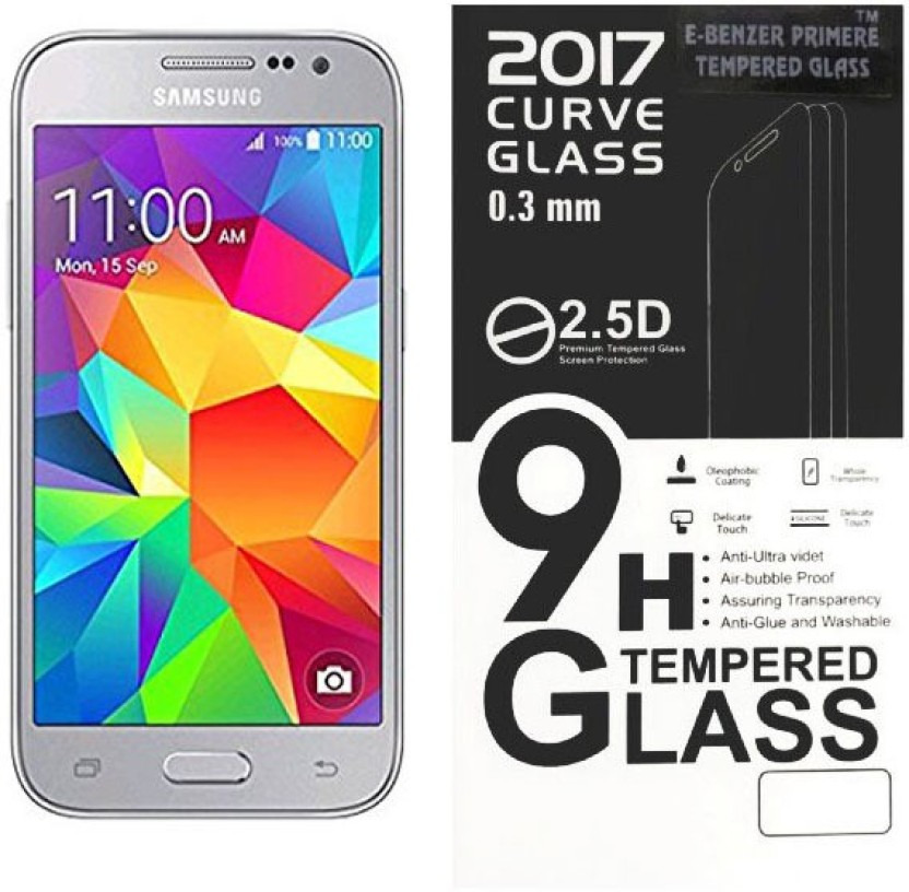Trendy Nation Tempered Glass Guard for SamsungGalaxy Core Prime Sm -G360