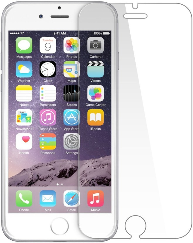 Phone Care Tempered Glass Guard for Apple iPhone 6