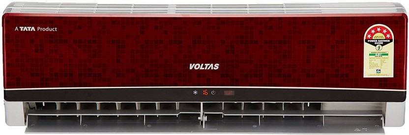 Voltas 1.5 Ton 5 Star BEE Rating 2017 Split AC  - Red