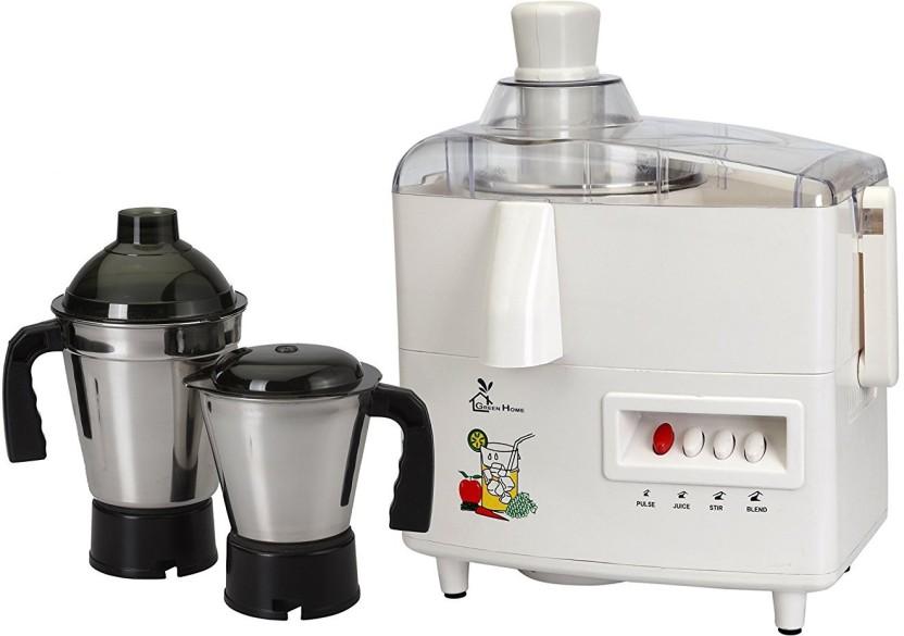 ASC Green Home Juicer Mixer Grinder 550W With 2 Stainless steel Jar (1 Year Seller Warranty) 550 Juicer Mixer Grinder