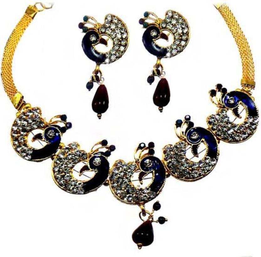 Jewels Guru Alloy Jewel Set