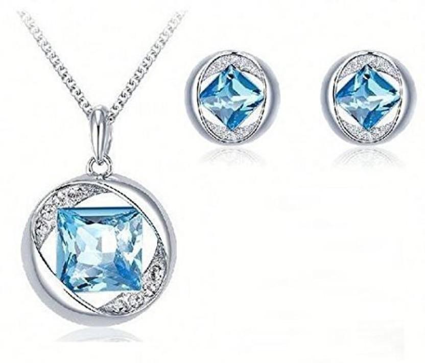 Nevi Metal, Crystal, Alloy Jewel Set