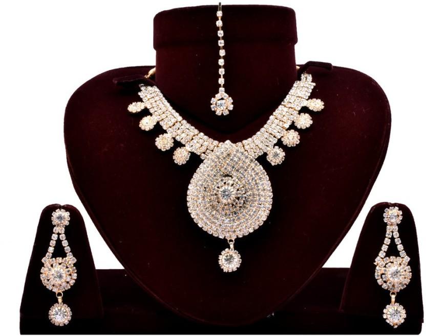 Indian Cheez Alloy Jewel Set