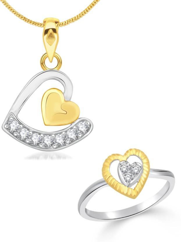 Vidhi Jewels Alloy, Brass Jewel Set