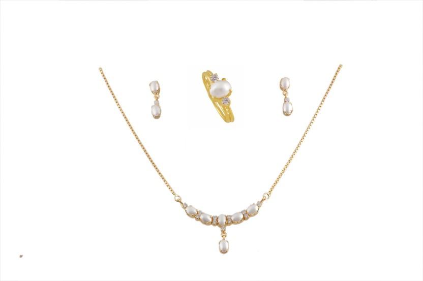 Vinayak Alloy Jewel Set