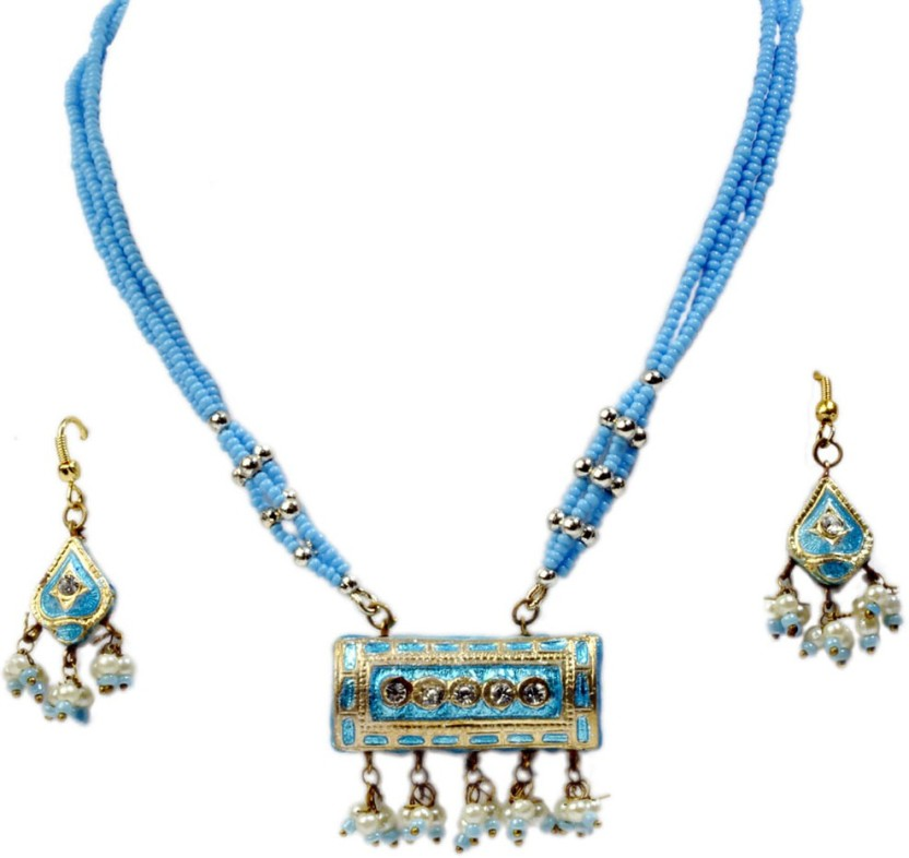 Indian Gift Emporium Alloy Jewel Set