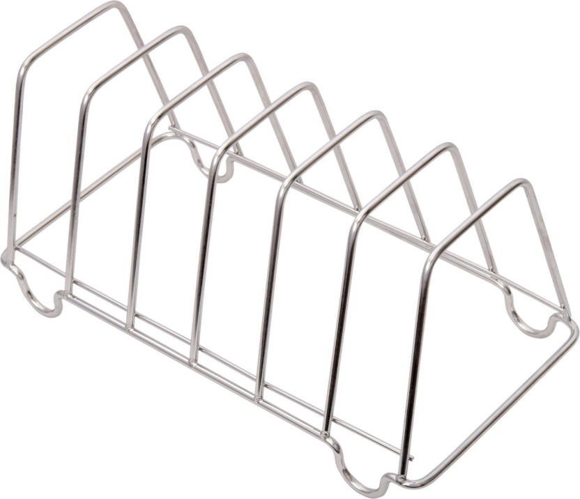 KCL Plate Stand For 6 Stainless Steel Kitchen Rack