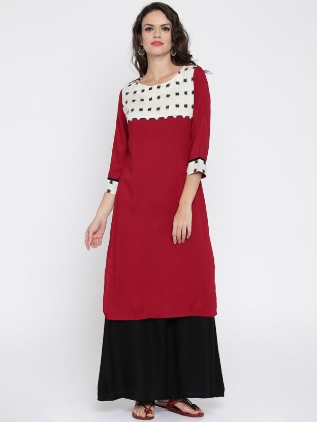 Anouk Self Design Women