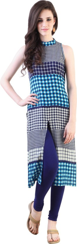 Ziyaa Checkered Women