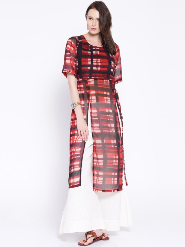 Anouk Checkered Women