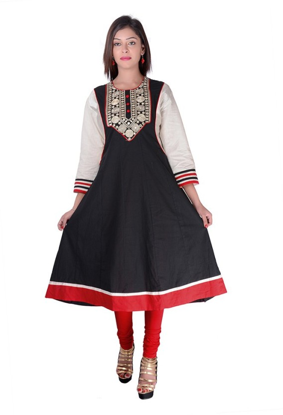 Kyaara Solid, Embroidered, Embellished Women