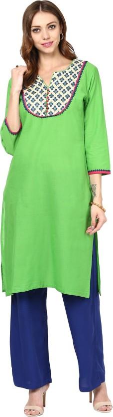 Rangeelo Rajasthan Solid Women