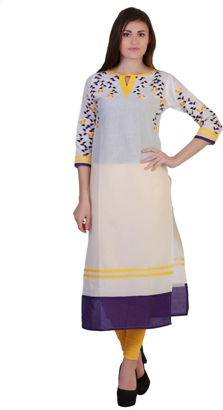 Tres Belle Embroidered Women
