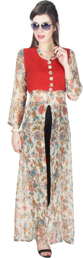 Crease & Clips Floral Print Women