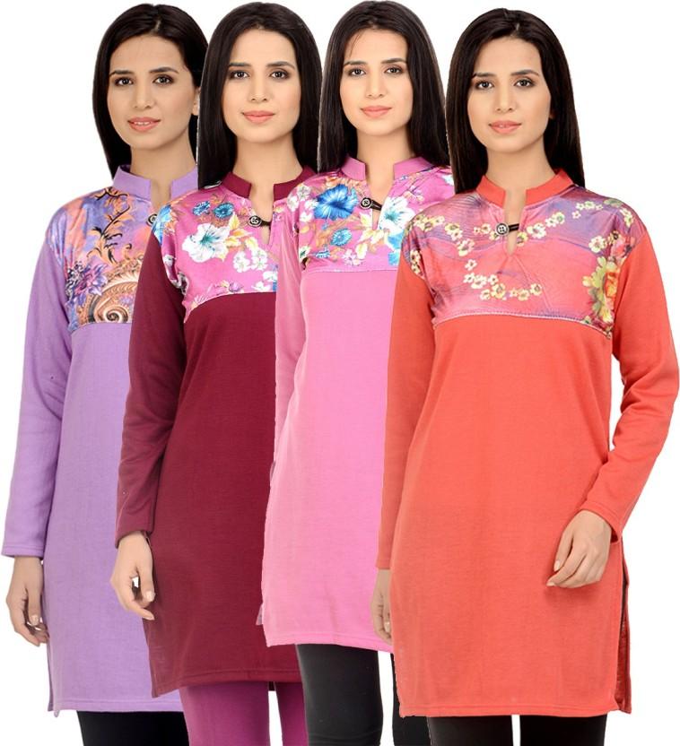 Sanvi Traders Casual Solid Women