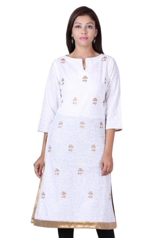 Naksh Jaipur Casual Self Design Women