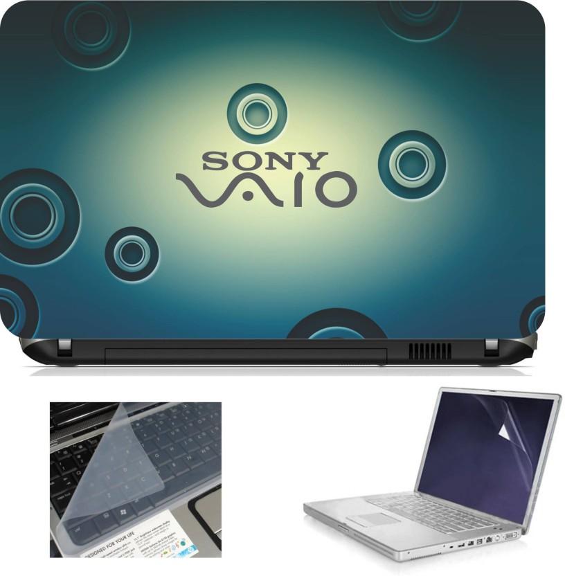 Print Shapes Sony Vaio Combo Set