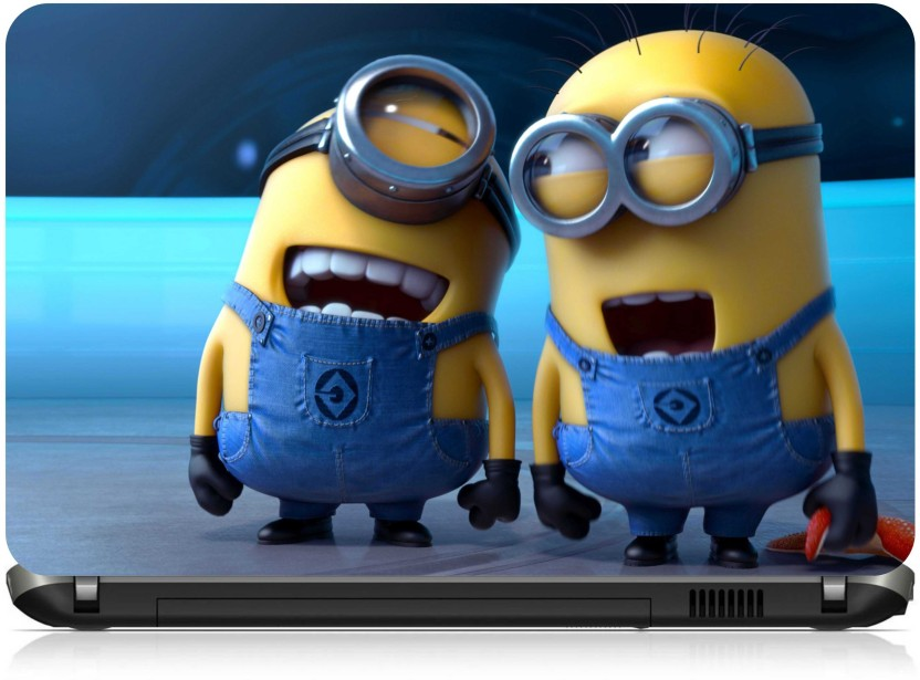 Ng Stunners Minions Chat Vinyl Laptop Decal 15.6