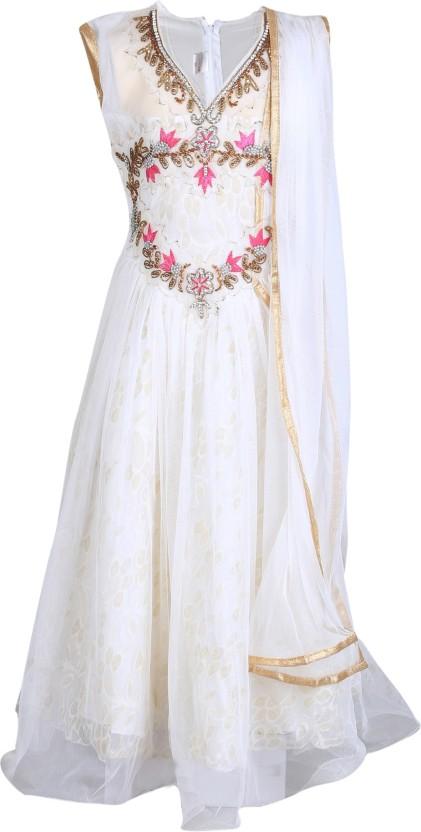 Crazeis Girls Maxi/Full Length Party Dress