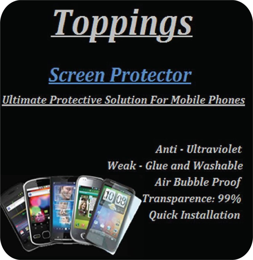 TBZ Cover Accessory Combo for Metal Bumper Acrylic Mirror Back Cover Case for Xiaomi Redmi 3S with Tempered Screen Guard