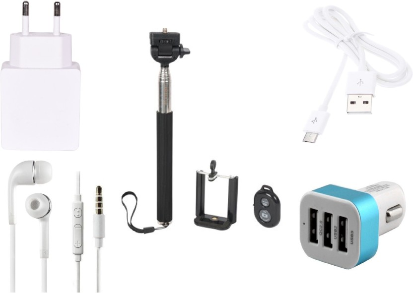 Robmob Selfie Stick Accessory Combo for Blackberry Z30