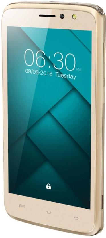 Xolo ERA 2-4G with VoLTE (Pyramid Gold, 8 GB)