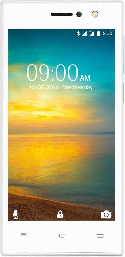 Lava A76+ 4G with VoLTE (White, 8 GB)