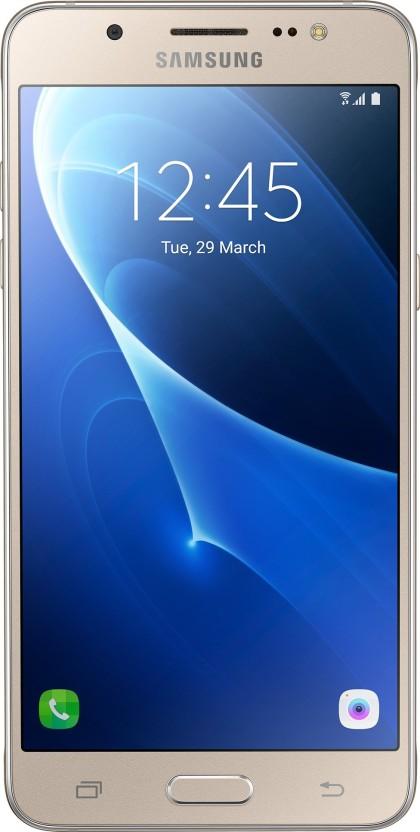 Samsung Galaxy J5 - 6 (New 2016 Edition) (Gold, 16 GB)