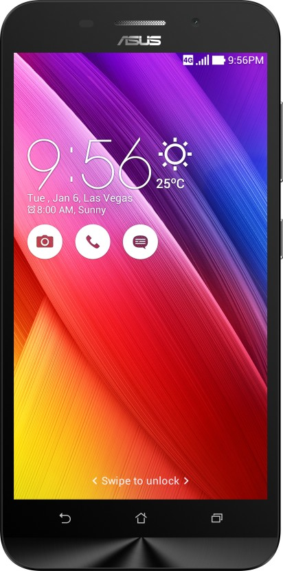 Asus Zenfone Max (Black, 16 GB)