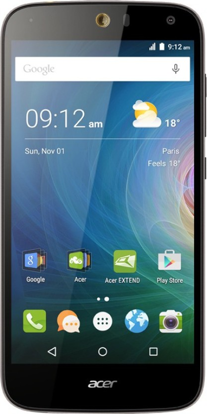 Lava Z60 (Black, 16 GB)