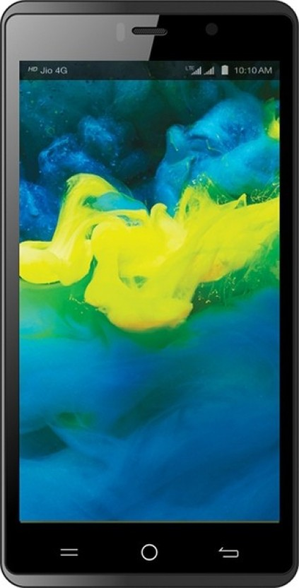 LYF Water 10 (Black, 16 GB)