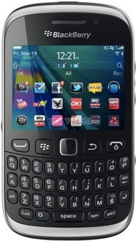 Blackberry Curve 9320 (Black, 512 MB)