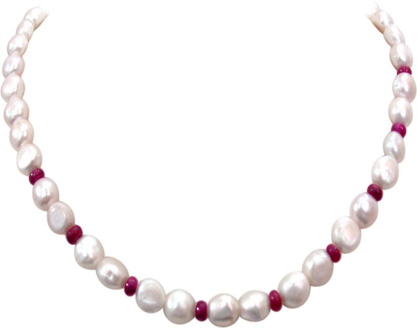 Surat Diamond Pearl, Ruby Metal Chain