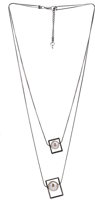 Diana Korr DKJ-N02 Pearl Alloy Necklace