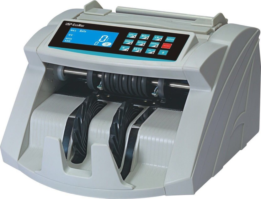 USP Eco Mac Lcd Color Changing Note Counting Machine