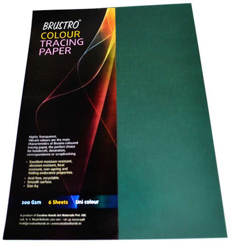 Brustro Tracing Unruled A4 Multipurpose Paper