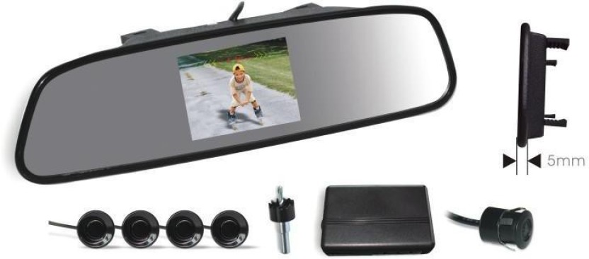 Koizer VPS01 rvm With Camera, Sensors, And Buzzer (Clip-On) Parking Sensor