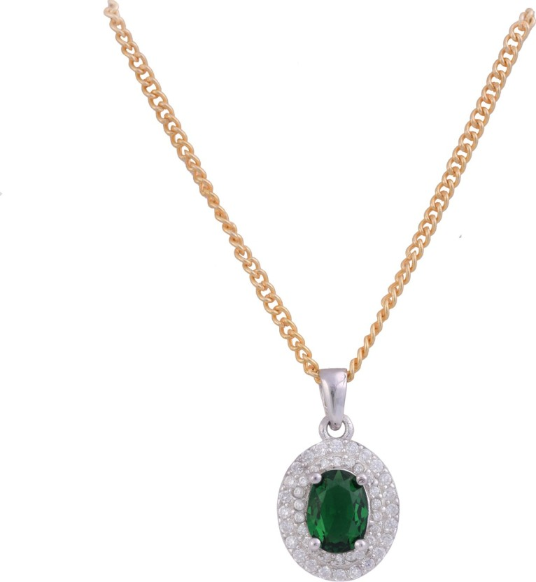Ijuels Princess Love & Emotions Forever Rhodium Cubic Zirconia Sterling Silver Pendant