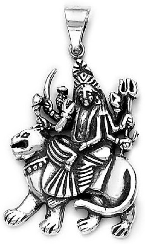 Jewels India Ganesham Pendant Sterling Silver