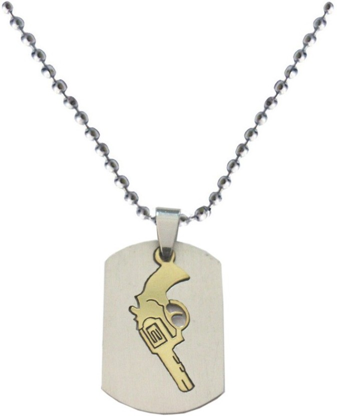 Rich & Famous Gun Fashion Alloy Pendant
