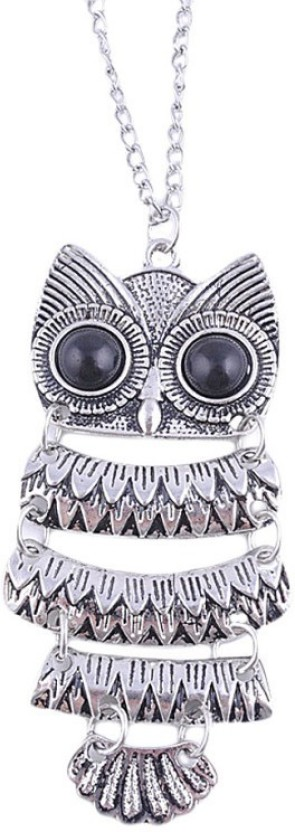 Chooz Designer Studio owl long chain Alloy