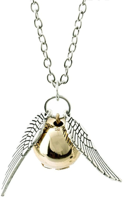 Cilver Fashion Harry Potter Inspired The Golden Snitch Alloy Pendant