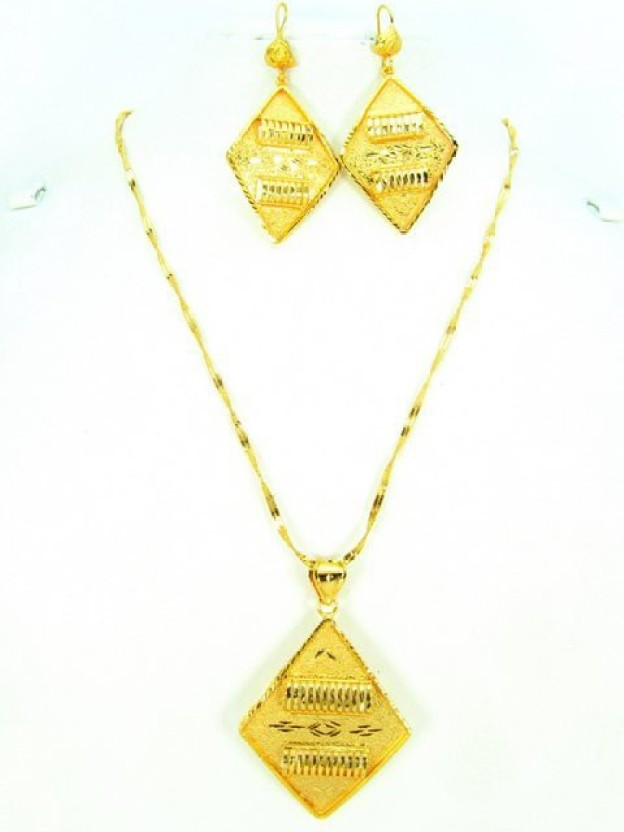 Craftswale Alloy Pendant Set