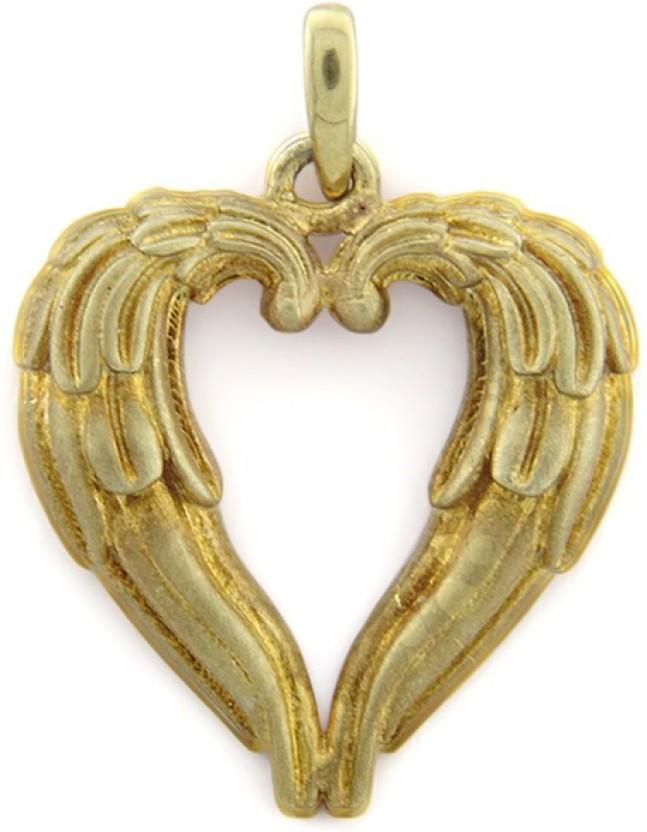 Treta Pretty Heart Shape Sterling Silver Pendant