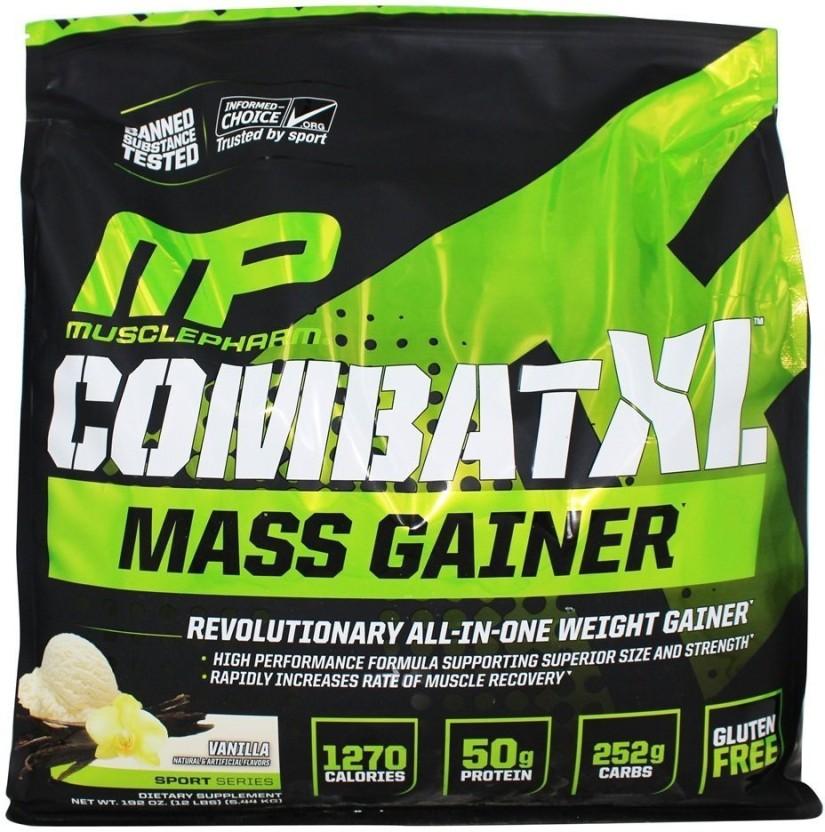MusclePharm XL Mass Gainer Combat Mass Gainers