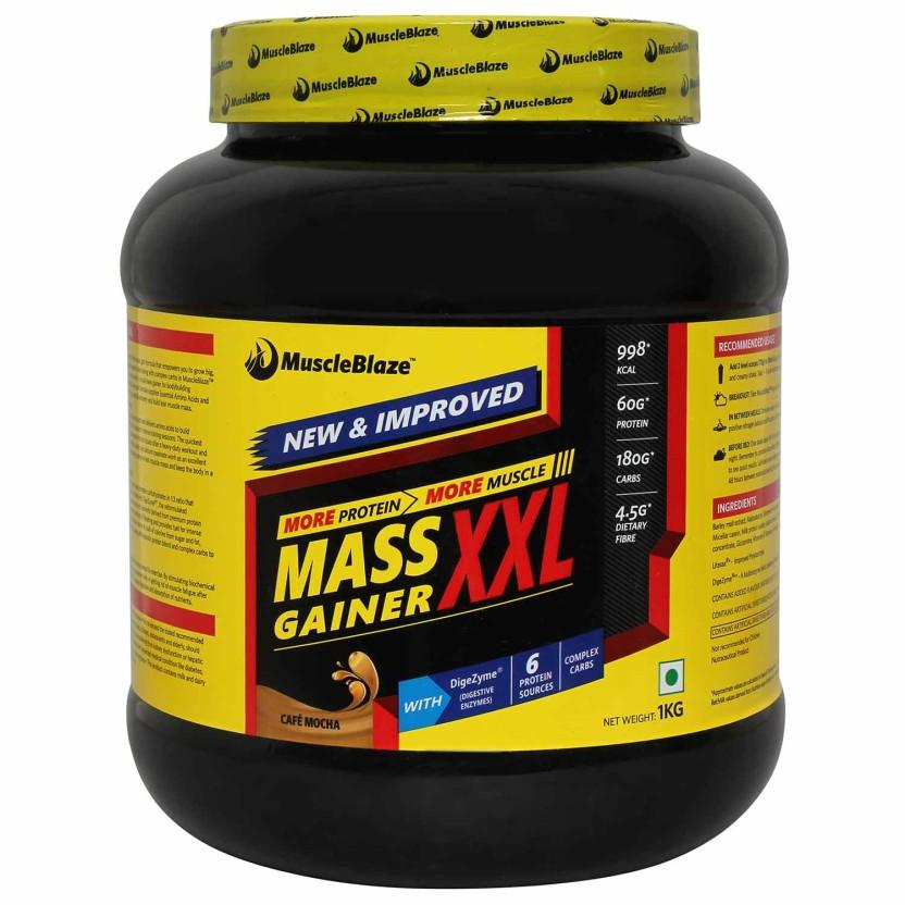 MuscleBlaze XXL Mass Gainers