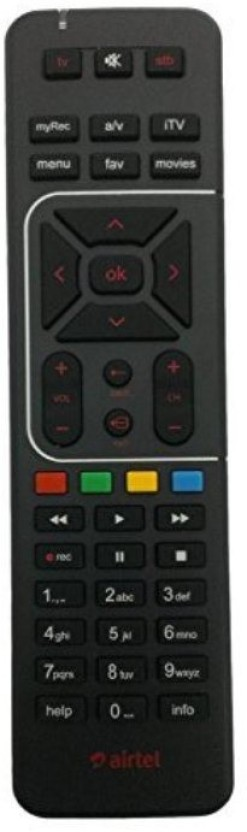 Airtel Remote Controller Radhikacomnet Airtel Digital TV DTH Remote Control Works With Your TV Also Remote Controller