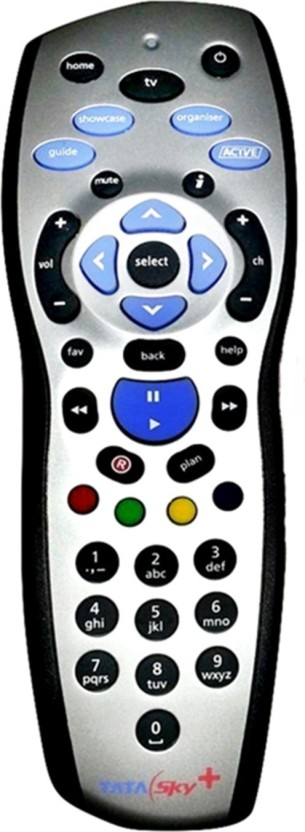 Tata Sky ORIGINAL HD +PLUS* RECORDING Remote Controller