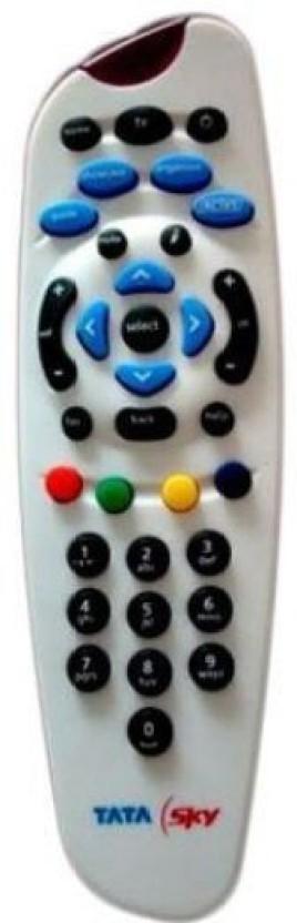 TATASKY 100% ORIGINAL DTH Remote Controller